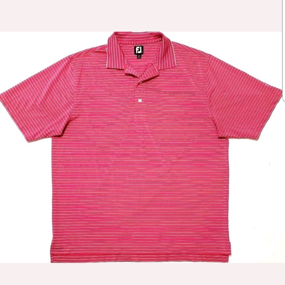FootJoy Other - FJ FootJoy Mens Shirt Size XXL Golf Polo Striped